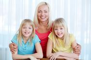 Lovely mommy Stock Photos