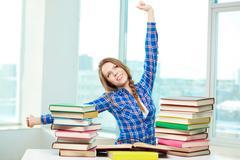 Study done Stock Photos