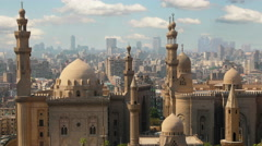 Cairo. Clouds. Egypt. Timelapse Stock Footage
