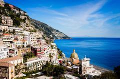 Positano in Amalfi Coast, Italy - stock photo