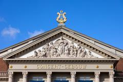 Stock Photo of Amsterdam Concertgebouw Architectural Details