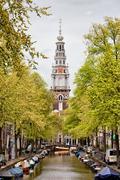 Zuiderkerk in Amsterdam Stock Photos