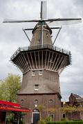 Stock Photo of De Gooyer Windmill in Amsterdam