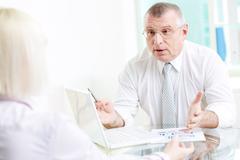 Negotiating Stock Photos