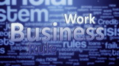 Business background animation - stock footage