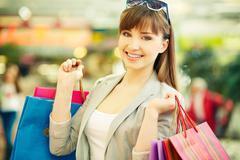 Satisfied customer Stock Photos
