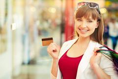 Convenient payment - stock photo
