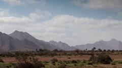 Anti atlas mountain nature morocco landscape 4k Stock Footage