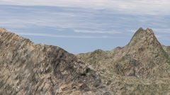 Rock montains Stock Footage