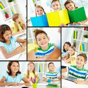 Youthful learners Stock Photos