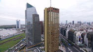 Stock Video Footage of Argentina Buenos Aires city traffic time lapse