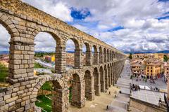 Segovia Aqueduct Stock Photos