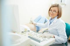 Ultrasound - stock photo