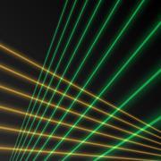 Laser beam background Stock Illustration