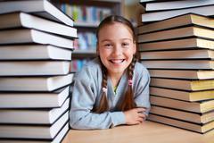 Book lover - stock photo