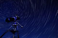 Star Trails - Astronomy Stock Photos