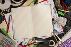 Stationery - Back to School - Space for Text Stock Photos