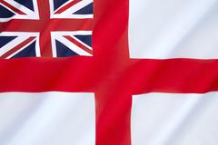 British White Ensign - stock photo