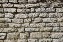Background - Ancient Stone Wall Stock Photos