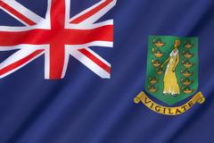 Flag of the British Virgin Islands Kuvituskuvat