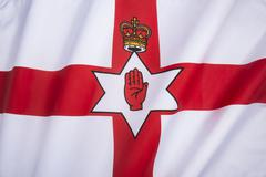 Flag of Northern Ireland - Ulster Banner Stock Photos