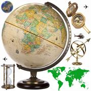 Globe - Travel Obects - Cutout Stock Photos