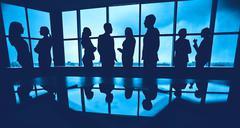 Stock Photo of Cooperation