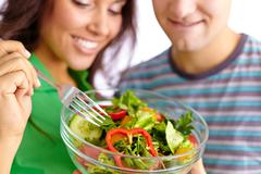 Healthy lunch Stock Photos