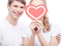 My sweetheart - stock photo