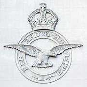 RAF Bomber Command Memorial - London - England - stock photo