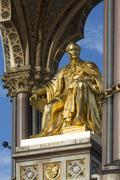 Albert Memorial - London - England - stock photo