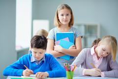 Youthful learner - stock photo