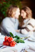 Romantic supper - stock photo