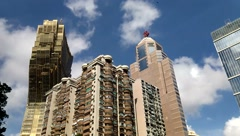 Macao's architectural landscape in China - stock footage