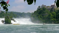 Rhine Falls at Schaffhausen, Switzerland #9 Stock Footage