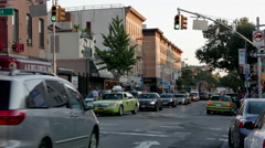 Park Slope 5th Avenue Stock Footage