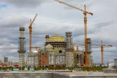Stock Photo of Construction of the mosque