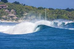 Stock Photo of Ocean Blue Wave