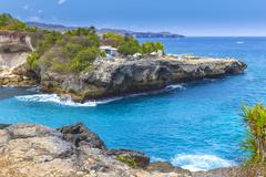 Tropical coastline. Stock Photos