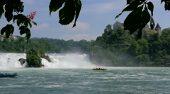 Rhine Falls at Schaffhausen, Switzerland #10 Stock Footage