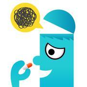 Stock Illustration of Medicine icon, vector
