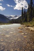 Kootenay National Park - British Columbia - Canada Stock Photos