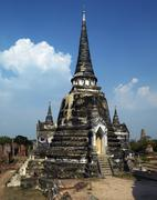 Ayutthaya near Bangkok - Thailand Stock Photos
