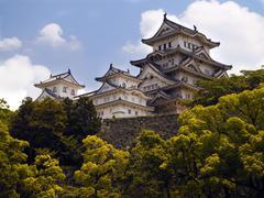 Himeji Castle - Japan - stock photo