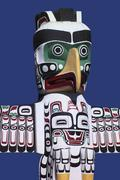 Stock Photo of Totem Pole - Vancouver - Canada