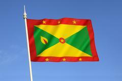 Flag of Grenada Stock Photos