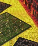 Electronics - Printed Circuit Boards - stock photo