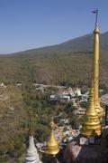 Mount Popa - Myanmar Stock Photos