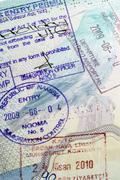 European Passport - International Travel Stock Photos