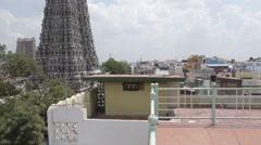 Stock Video Footage of Meenakshi Amman Temple in Madurai, India
